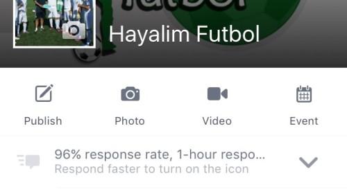 Facebook'da 32.489 Futbolcu Adayı bizi takip ediyor!