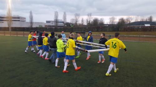 10.Gurbetçi Futbolcu Kampı Metz Görüntüleri 5-8 Mart 2018