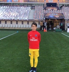 Paris Saint Germain (PSG)'de oynayan…