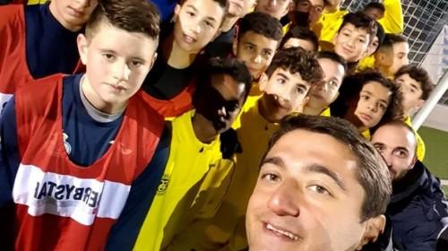Beşiktaş U12 Antrenörü Mesut Kır Avrupa Kamplarında Bizlerleydi…